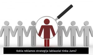 reklamos internete strategija